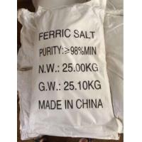 Quality 98% Industry Grade Ferric nitrate for sale