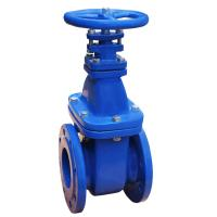 Quality Soft Seated Cast Iron Water Gate Valve Non Rising Stem Resilient WCB Body for sale