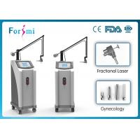 Quality 1-100ms fractional CO2 machine with two working modes: factional and cutting for sale