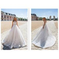 New Style Strapless Women Elegant Bridal Gowns Ivory Ball Gown Custom Made Wedding Dress