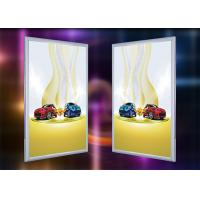 Quality Aluminum LED Snap Frame Single Side Illuminated Light Box Signs For Window Display for sale