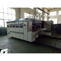 Buy lead edge feeding high speed flexo printing slotting die cutting machine, at wholesale prices