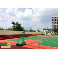 Quality Silicon PU Athletic Court Floor Poly Floor Coating Paint Material for sale