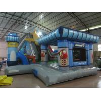 Buy cheap Inflatable airplane themed fun city inflatable airport topic fun amusement park from wholesalers