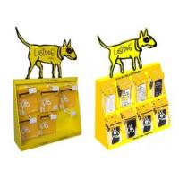 Quality Economical Yellow Dog Cardboard Counter Displays ENCD003 Innovative Shelf pdq for sale
