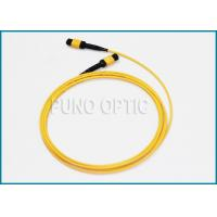 Quality Single Mode MPO Fiber Optic Cable For Indoor Structure Cabling 32 Fibers for sale