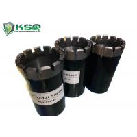 China Impregnated Diamond Core Bit Optimal Wear Resistance Achieve The Ultimate In Drilling on sale