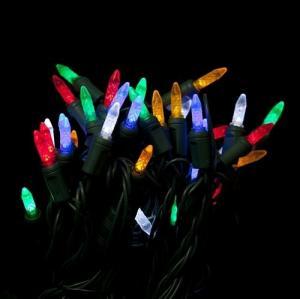 Quality Decoration multicolor M5 led christmas lights for sale