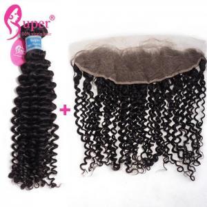 Two Bundles Brazilian Virgin Hair Extensions Glue In Natural Curly Hair Weave