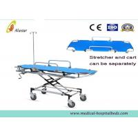 Quality High Strength Ambulance Stretcher Trolley For Transfer Patient With Four Wheels ALS-S016b for sale