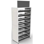 Quality Metal Frame Modular Cigarette Display Cabinet Tobacco Shelf 240 Facings for sale