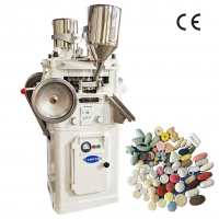 Quality 5mm Tablet Pharmaceutical Pill Press 2.2kw With 33 Punch for sale