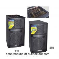 Quality Professional wooden stage speakers with EQ/mixer big speakers large power for sale