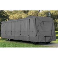 18' - 43' Class A Durable Rv Covers With 4 Zippers Rainfall / Snow Resistance