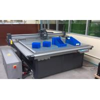 Buy cheap Coroplast board corrugated paperboard sample cutting machine from wholesalers