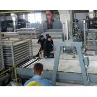 Quality 1.15 m / 1.2 m Feeding Width Fiber Cement Board Production Line for Public Construction for sale