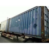 China 40 Ft / 20 Ft Old Prefab Container Housefor Storage Red In Steel on sale