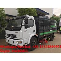 Quality 2019s HOT SALE! new best price Dongfeng 120hp diesel road washing sweeper truck street washing and sweeping vehicle for sale