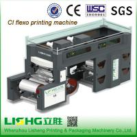 China PE / BOPP Shopping Bag CI Flexographic Printing Machine With High Speed on sale