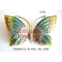 Butterfly Design Luxury Metal Jewelry Box Newest Promotional Box for Jewelry