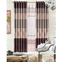 Quality Custom Polyester Lace Home Textile Products Insulated Blackout Window Curtain for sale