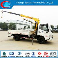 Quality New Model Foton 4X2 Crane Mounted Truck for Sale (CLW1900) for sale
