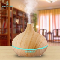 Quality 300ML Essential Oil Diffuser wood grain for room diffuser for sale
