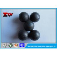 Quality High chrome casting iron balls , mill grinding balls for gold minings for sale