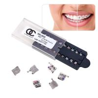 Quality Mini Mbt Metal Dental Braces With 3 4 5 Hook Ultra Small External Shape for sale