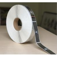 China Self Adhesive Clear Bopp Roll Label , Custom Printed Chrome Sticker Label on sale