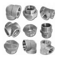 Quality 6000lb 2'' Socket Weld Fittings Elbow / Tee / Cross / Union / Plug for sale