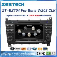 Quality ZESTECH Wholesales 2 din double din car dvd for mercedes-benz clc w203 navigaiton system satellige gps for sale