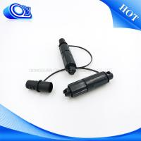 Quality IP68 Waterproof Cable Connector / Fiber Optic Connector OFNR Flame Retardant for sale