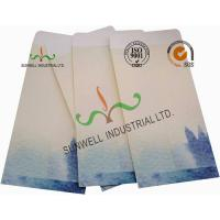 Buy Lotus / Fish Pattern Custom Printed Envelopes Special Size Kraft Coated Paper at wholesale prices