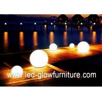 Quality RGB LED sphere mood changing lights with Certified Rechargeable Lithium Battery for sale
