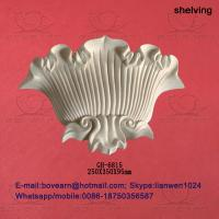 Quality Surface crack lacquer sea shell type pu wall lamp box / pu decorations for sale