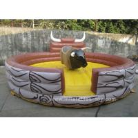 Quality Commercial Inflatable Sports Games Children Mechanical Riding Bull for sale