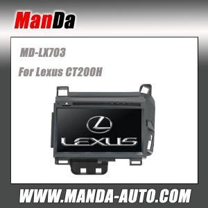 Quality Manda car stereo for Lexus CT200H Custom Audio & Video player gps oem car hifi sat nav car accessories for sale