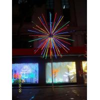 Quality 2015 High-simulation led christmas fireworks light with CE ROHS GS BS UL SAA for sale