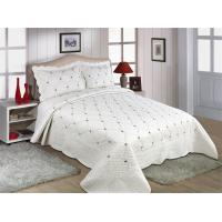 Quality Fade Resistant Quilts With Embroidery , 160x240 / 220x240cm Cotton House Quilt Covers for sale