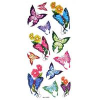 Quality beautiful flower tattoo sticker for sale