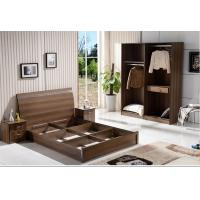 Buy cheap Cheap style rent Apartment home furniture melamine plate bed 1.2m- 1.5m-1.8 m from wholesalers