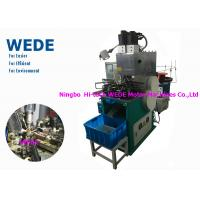 Buy cheap 1 Motor Vertical Electric Motor Winding Machine , Automatic Power Transformer from wholesalers