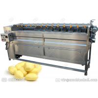 Quality Commercial Potato Ginger Cleaning And Peeling Machine With Factory Price for sale