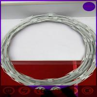 High Quality Security Single CBT-65 Iron Razor Barb Wire for Sale of