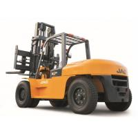 Quality Heavy Machinery Counterbalance Diesel Forklift Truck 10 Ton Large Capacity for sale