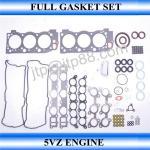 Quality Diesel Engine Cylinder Kit 5VZ Full Head Gasket Set 04111-62081 for sale