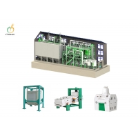 Quality 40 Ton 150kw Compact Flour Mill Machine In Turkey Corn Rice Processing for sale