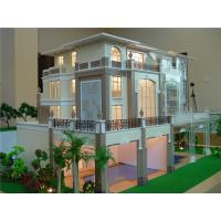 Quality Fancy Laser Cut Architectural Model , 1 / 35 Scale Small House 3D Model for sale