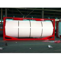 Quality Insulated Liquid Tank Container / Horizontal 20ft ISO Tank Container for sale